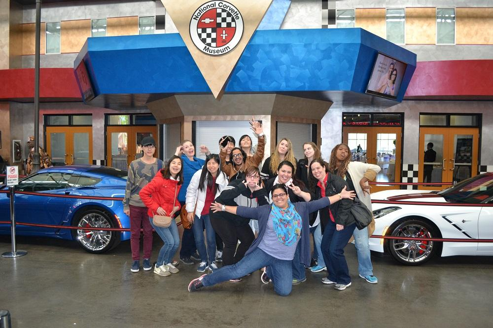 Trip to the Corvette Museum