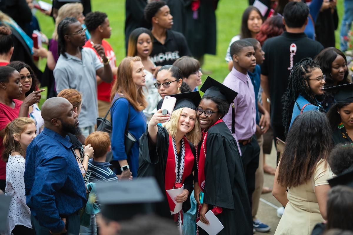 More than 400 graduates received degrees during Austin Peay State University's Summer Commencement on Aug. 9, 2019. Circuit Court Judge Kathryn Olita, 19th Judicial District, delivered the keynote address.