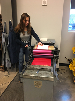 Printing College Art Day 2018