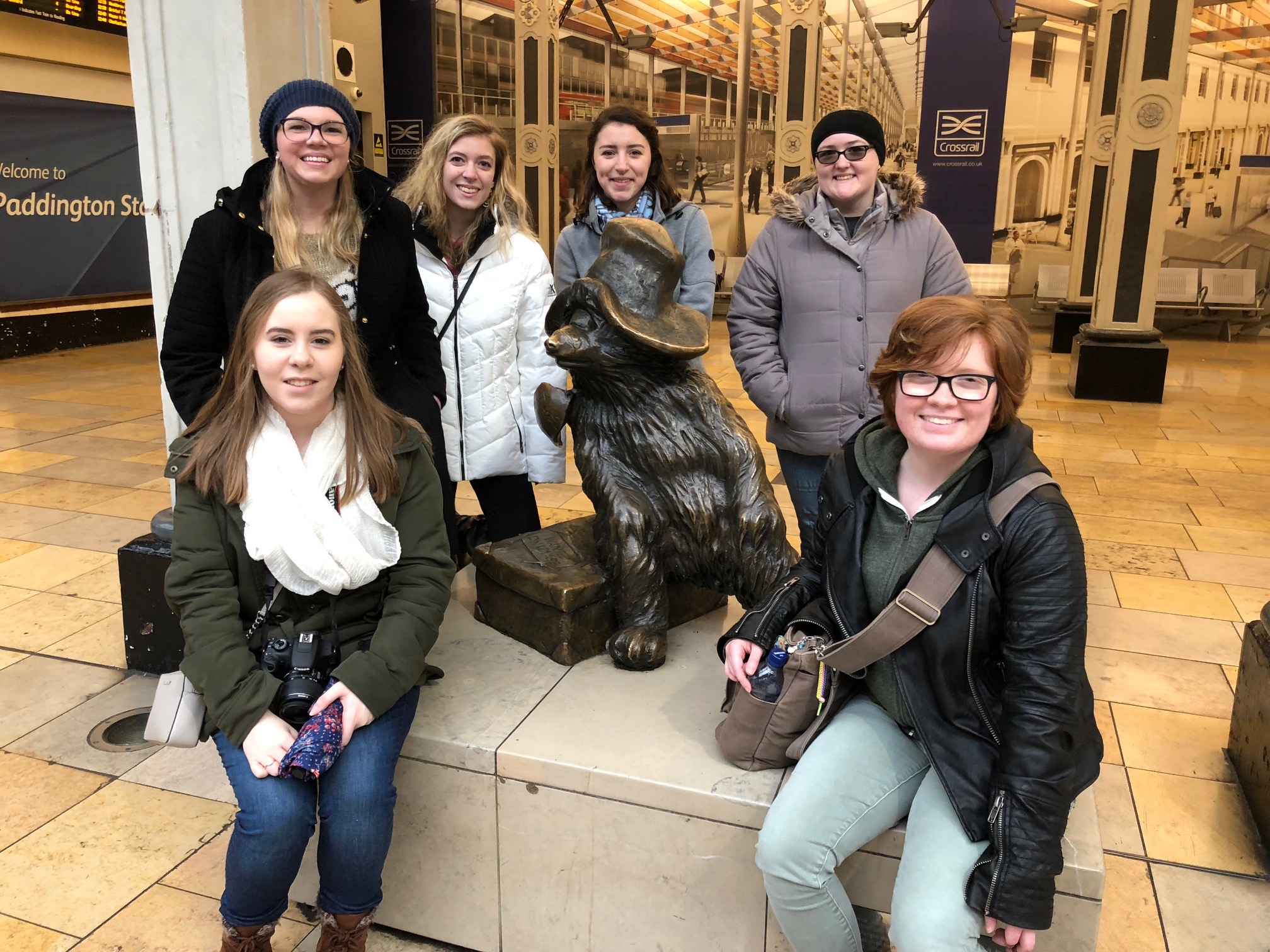 COE students on study abroad trip