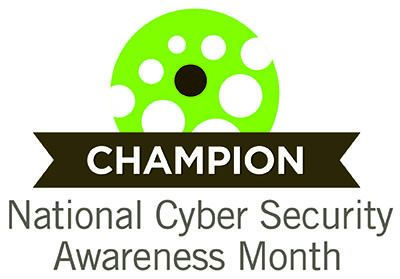 Champion National Cyber Security Awareness Month