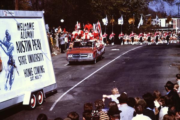APSU 1970 Homecoming parade