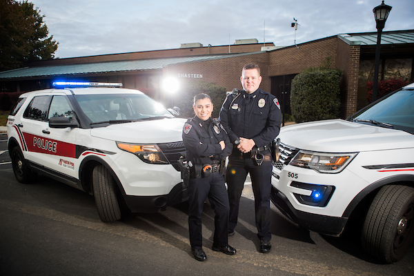 Two APSU Police Officers
