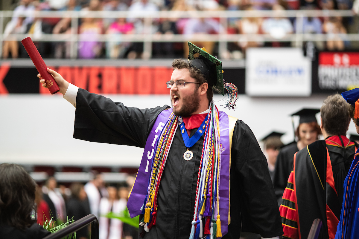 GALLERY: Check out photos from the 2019 spring commencement