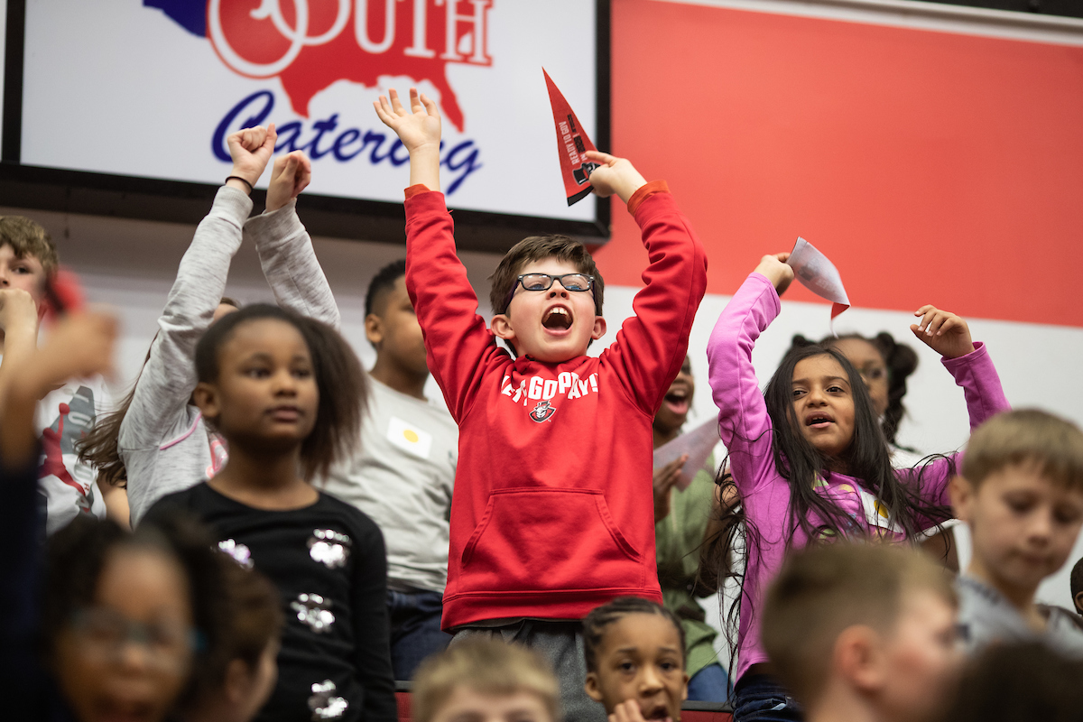 Austin Peay hosts more than 640 third-graders for 'Ready to Gov'