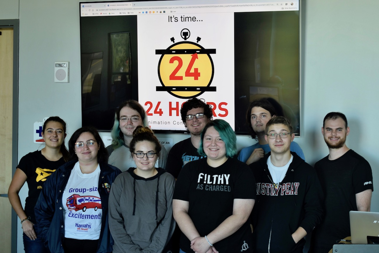 Austin Peay animation students to compete in international 24 Hours Contest