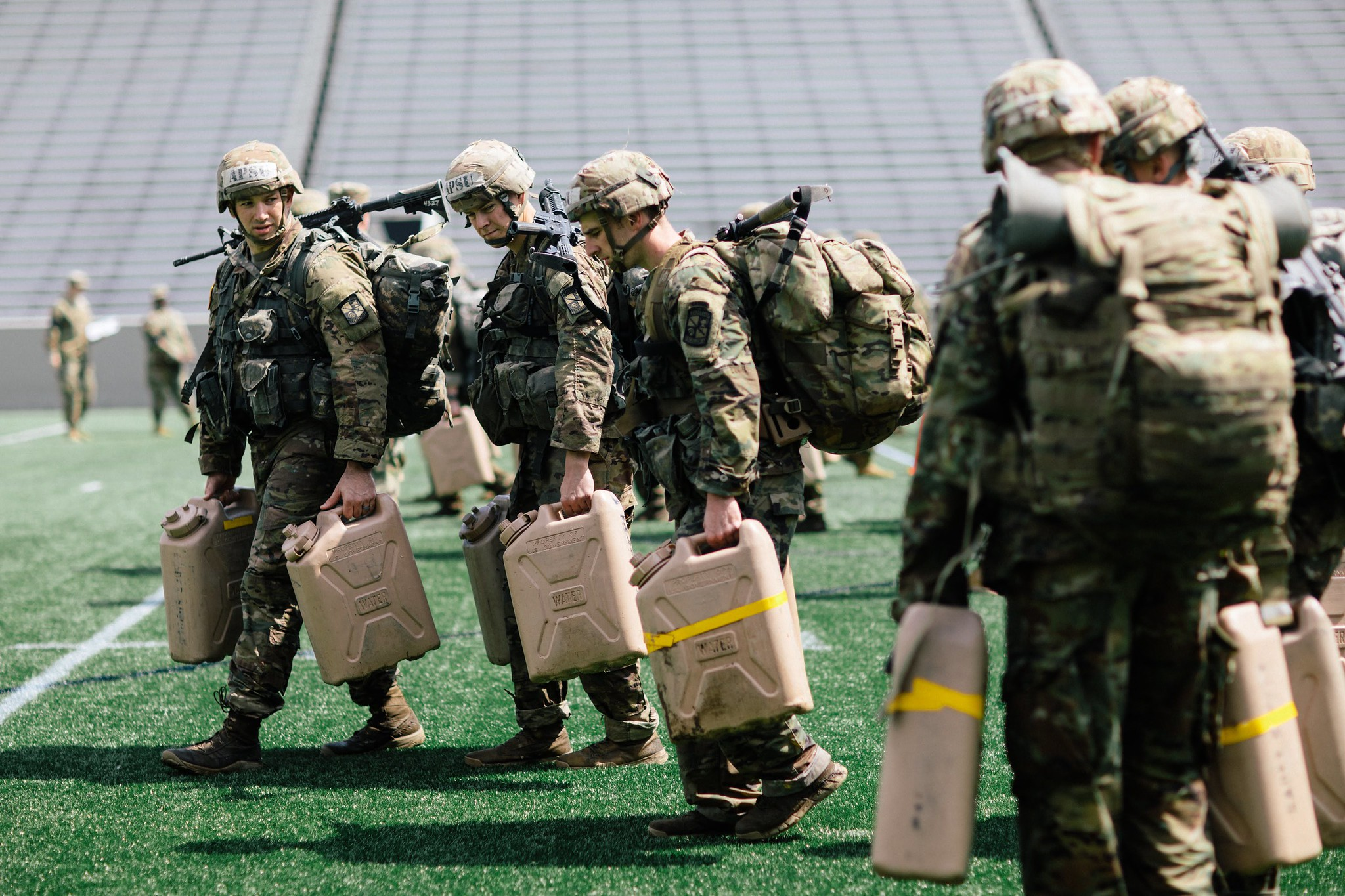 Austin Peay cadets finish eighth in ROTC division at world-class Sandhurst competition