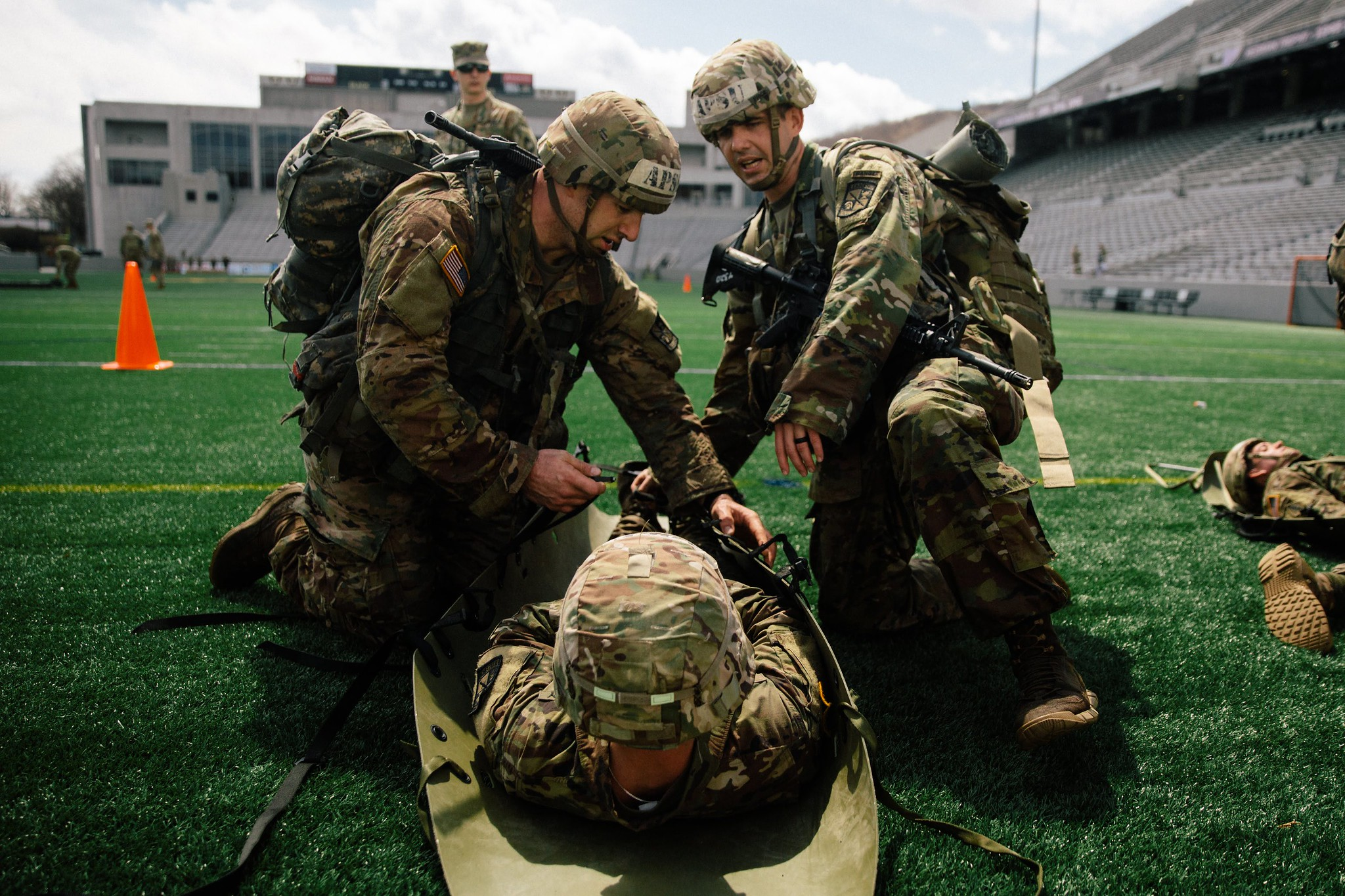 Ranger Challenge team finishes eighth among ROTC teams at Sandhurst