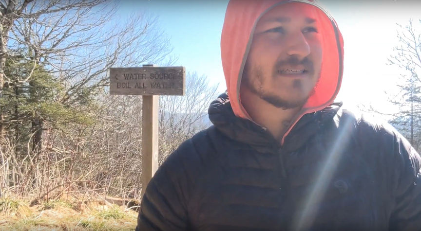 APSU alum takes on the well-known Appalachian Trail, the longest hiking footpath in the world