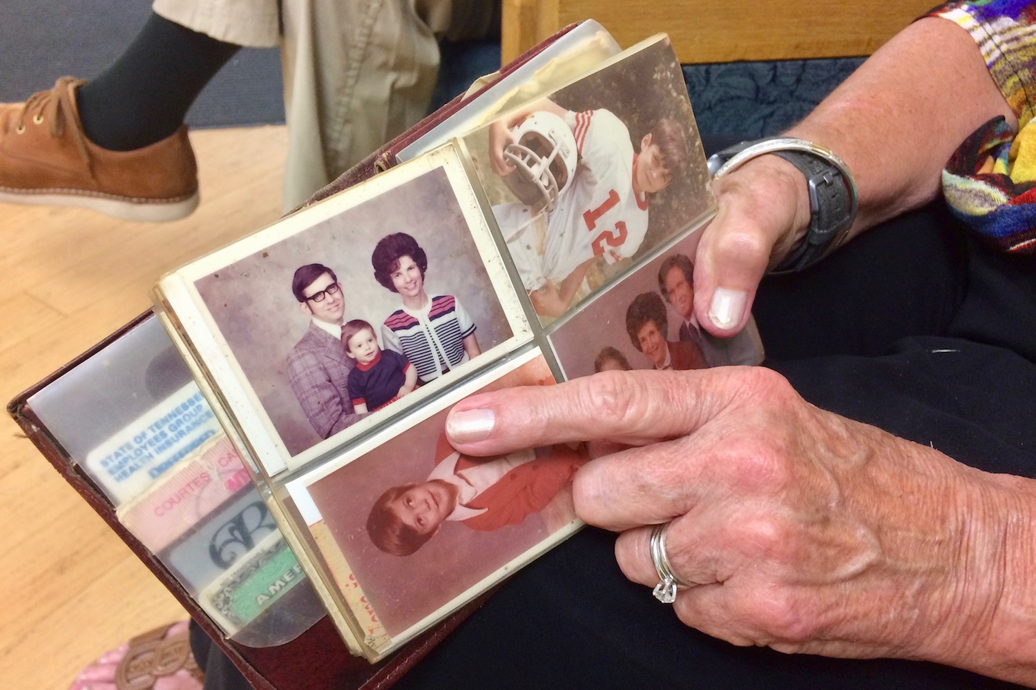 Stolen APSU professor's billfold found down the hall 32 years later