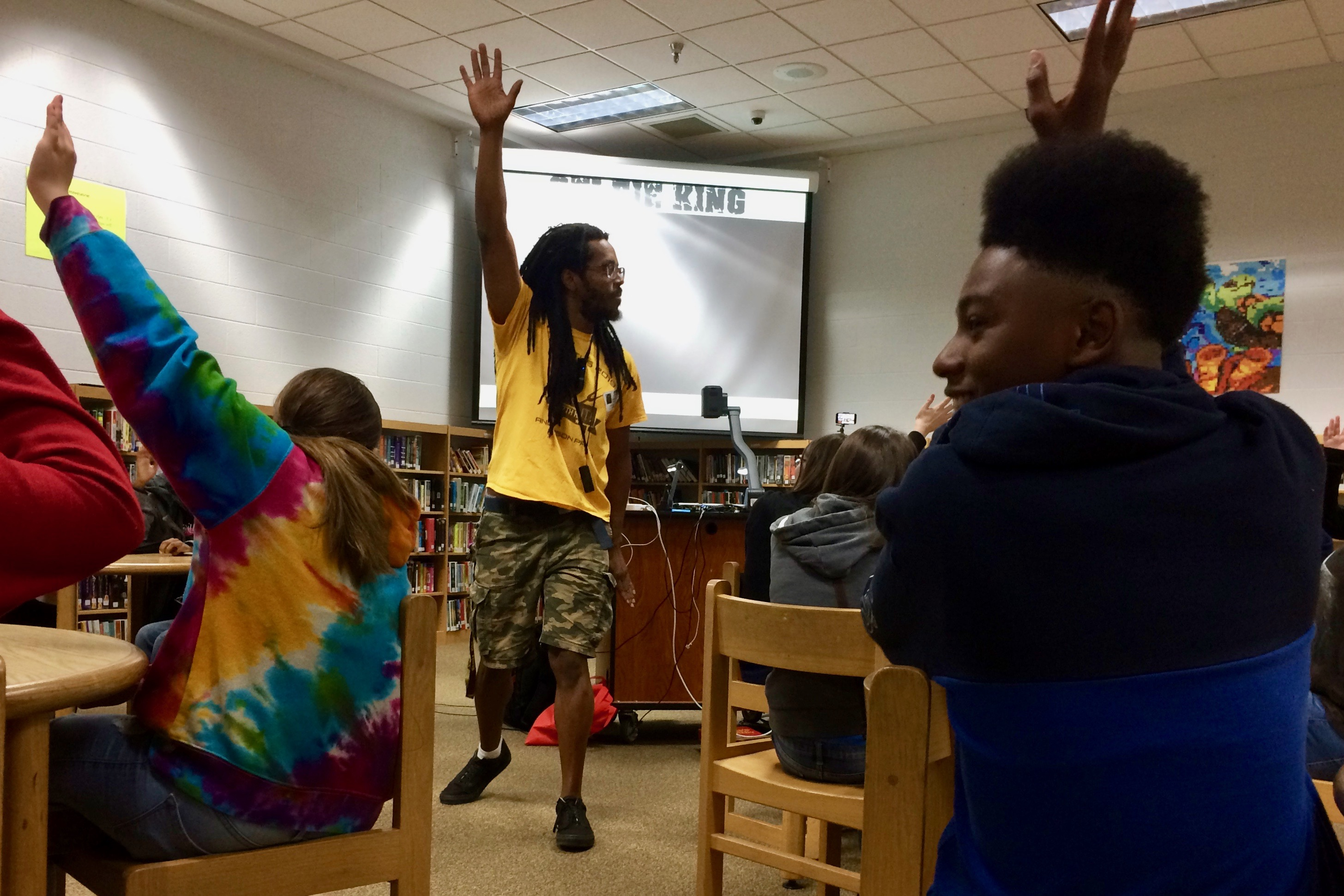 Kennedy Center hip-hop teaching artist engages through CECA partnership