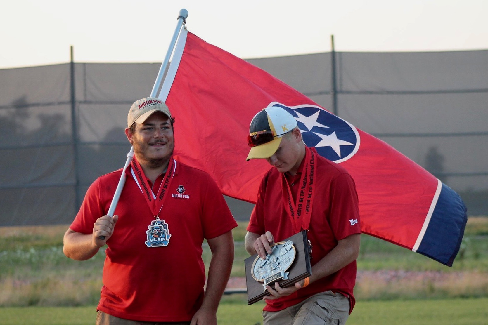 Clay Target Team of APSU wins national championship
