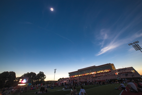 Eclipse over APSU