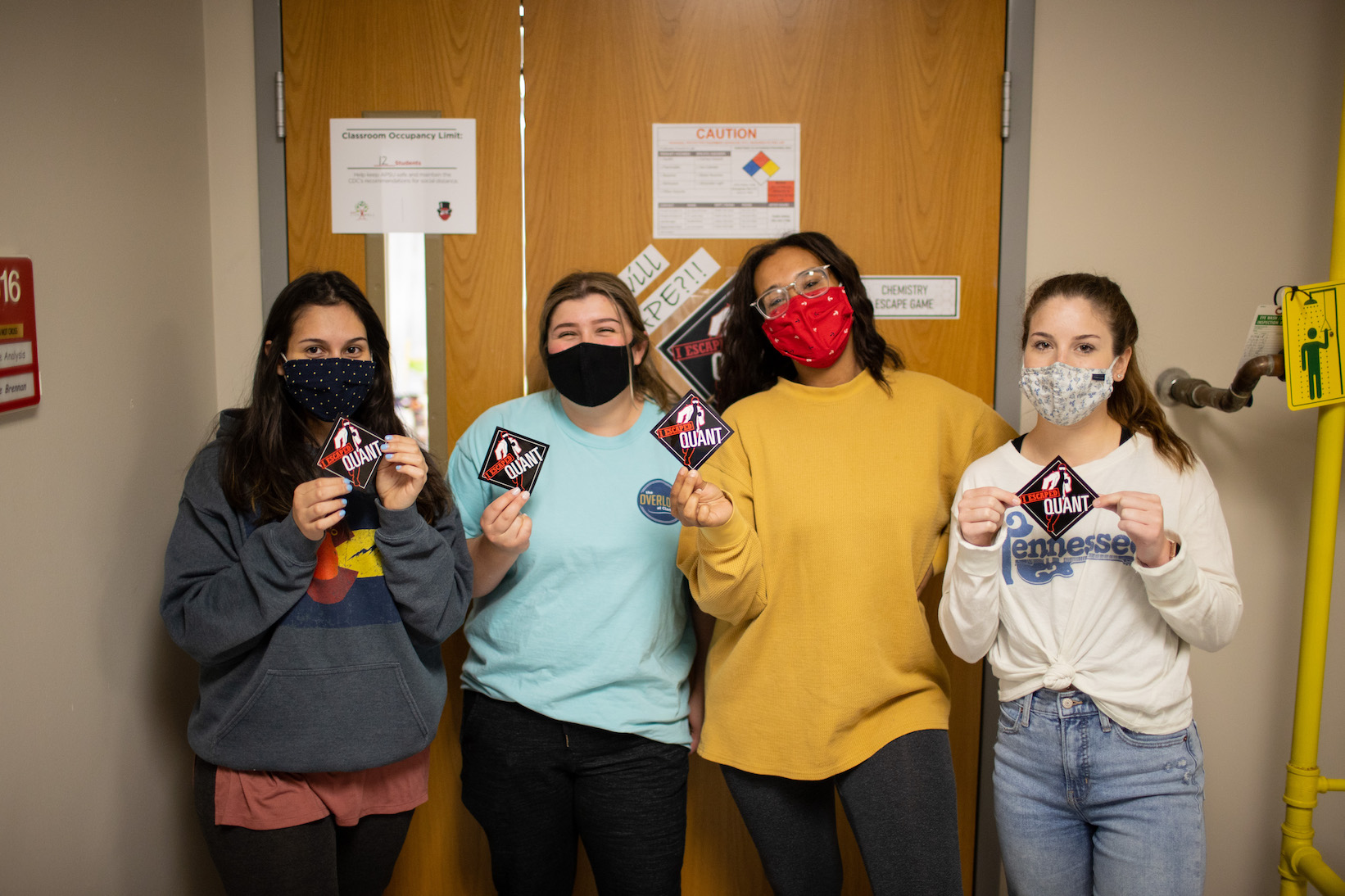 APSU students 'escape' chemistry lab by finding the fictional copper thief