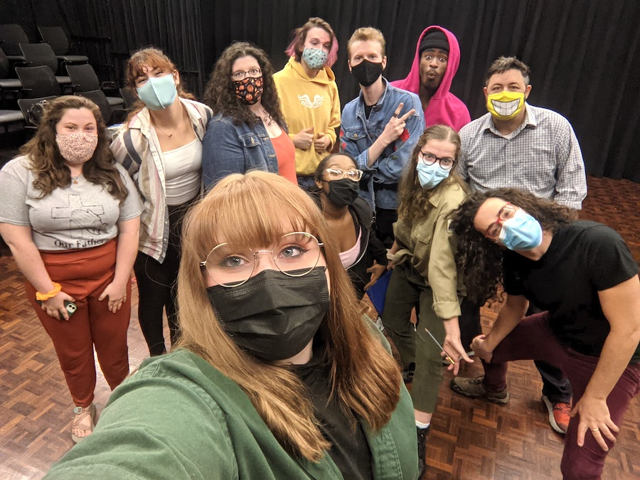 Austin Peay theatre students collaborate with NYC theatre, playwright on new play