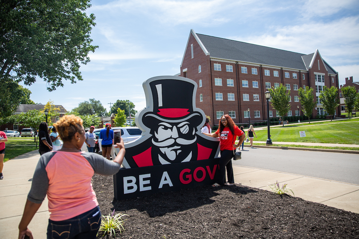 Austin Peay State University officials will welcome more than 1,000 freshmen to campus residence halls this week, and most the new students will arrive from 8 a.m. to 3 p.m. on Thursday, Aug. 22.