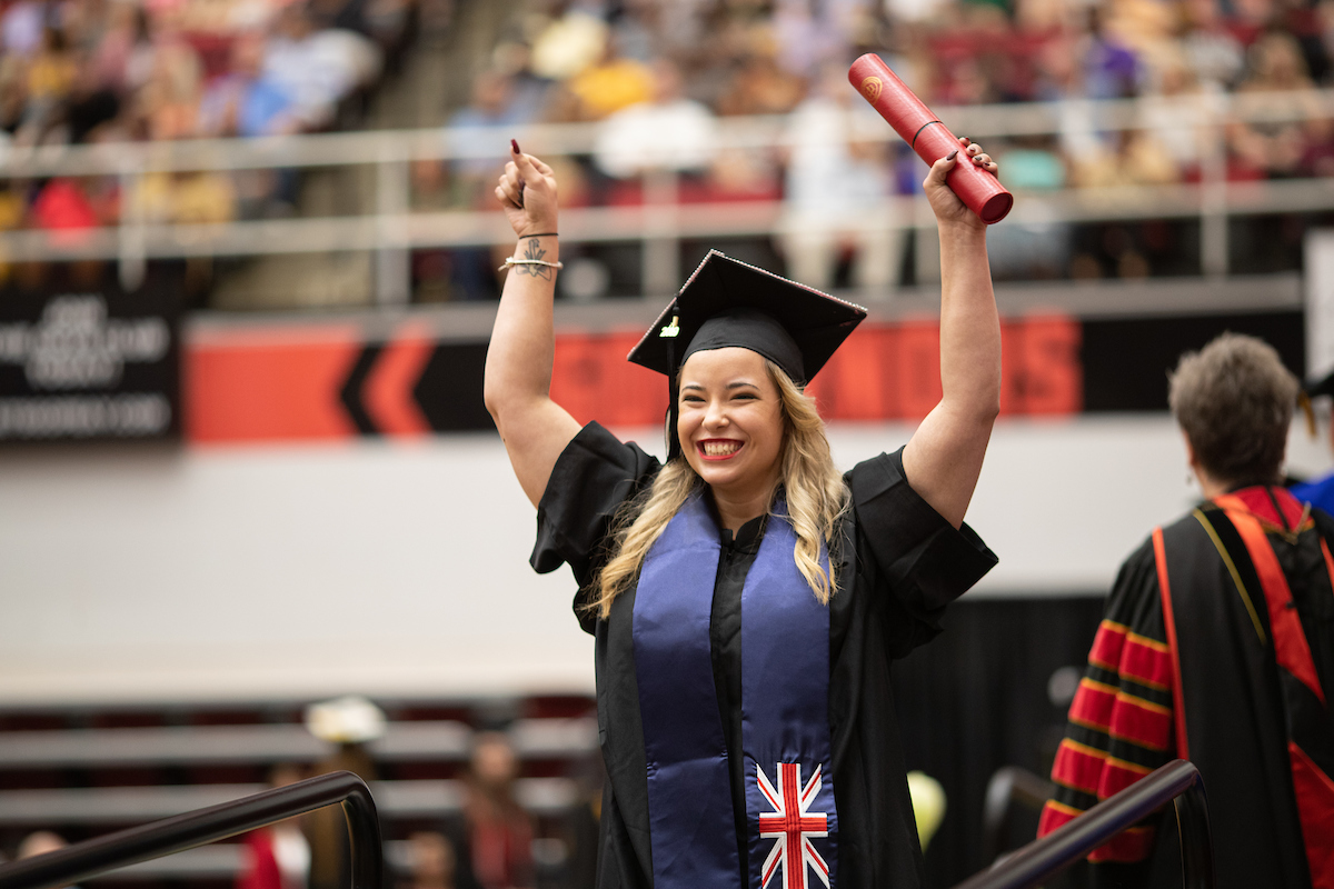 Photos: More than 400 students honored at summer commencement