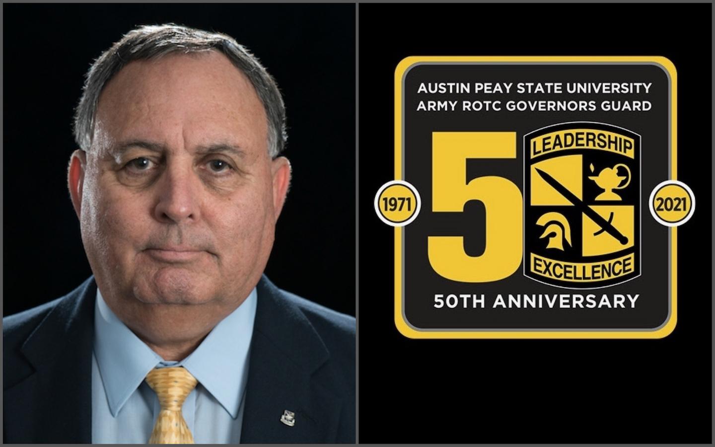 Celebrating ROTC's 50th year at Austin Peay: Lt. Col. Herbert Rodriguez