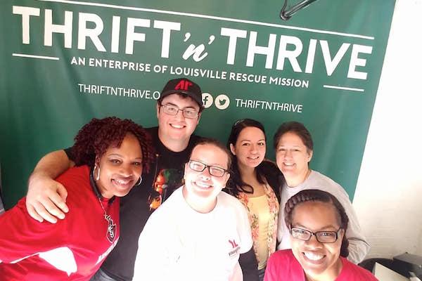 Louisville service trip