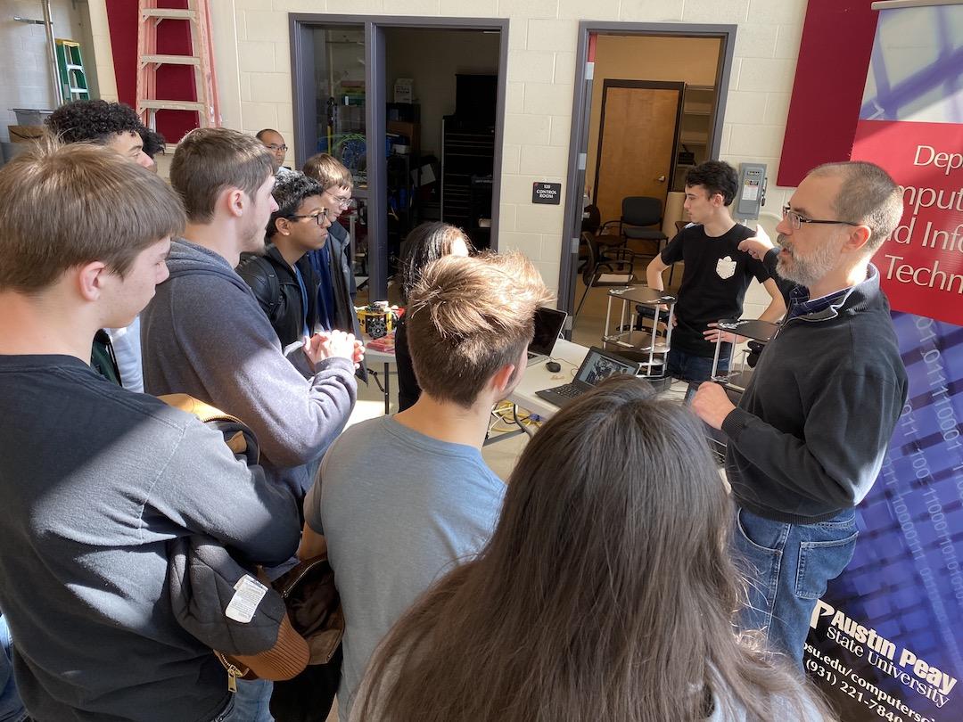 Austin Peay gives Northeast students peek at multidisciplinary field of robotics