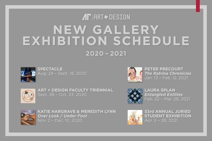 APSU Department of Art + Design announces 2020-21 exhibition season