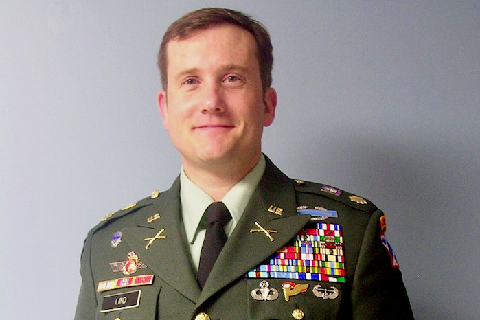 Celebrating ROTC's 50th year at Austin Peay: Lt. Col. Peter Lind
