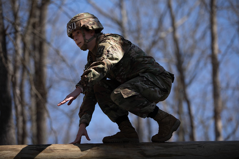 Continuing today: Austin Peay ROTC Ranger Challenge team competing at Sandhurst