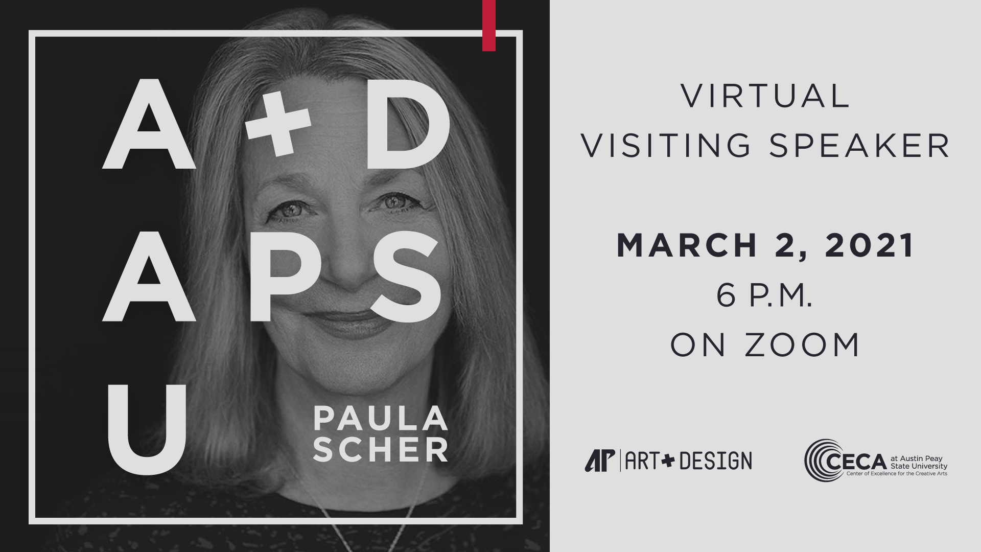 Happening today: World-renowned graphic designer Paula Scher to deliver free lecture