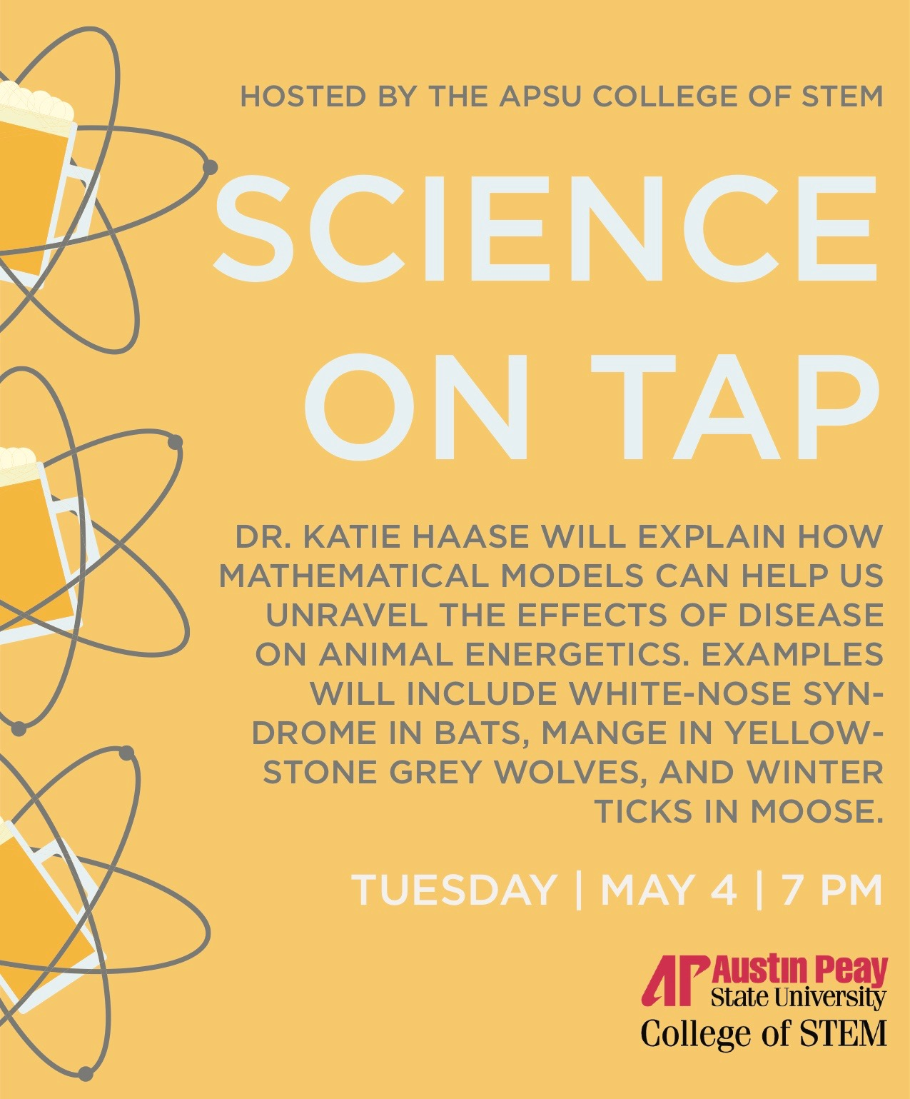 Happening tonight: Last Science on Tap of the spring semester