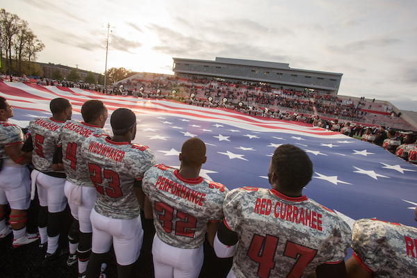 APSU Military Appreciation football game