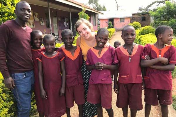 Mallory Fundora in Uganda