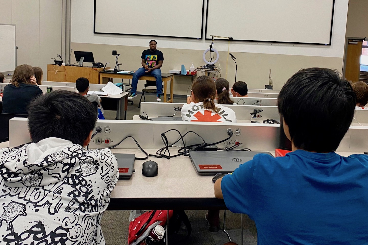 Austin Peay Governor's School students learn from distinguished alumni scientists