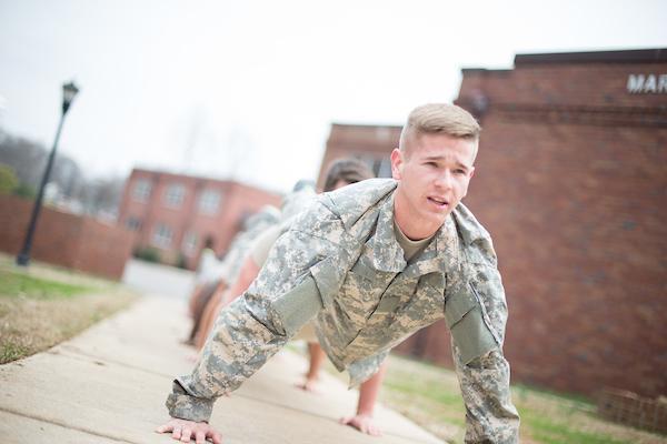 APSU ROTC cadets