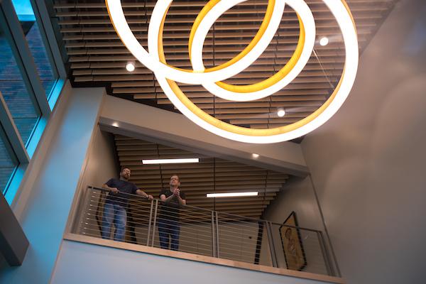 Art + Design lobby