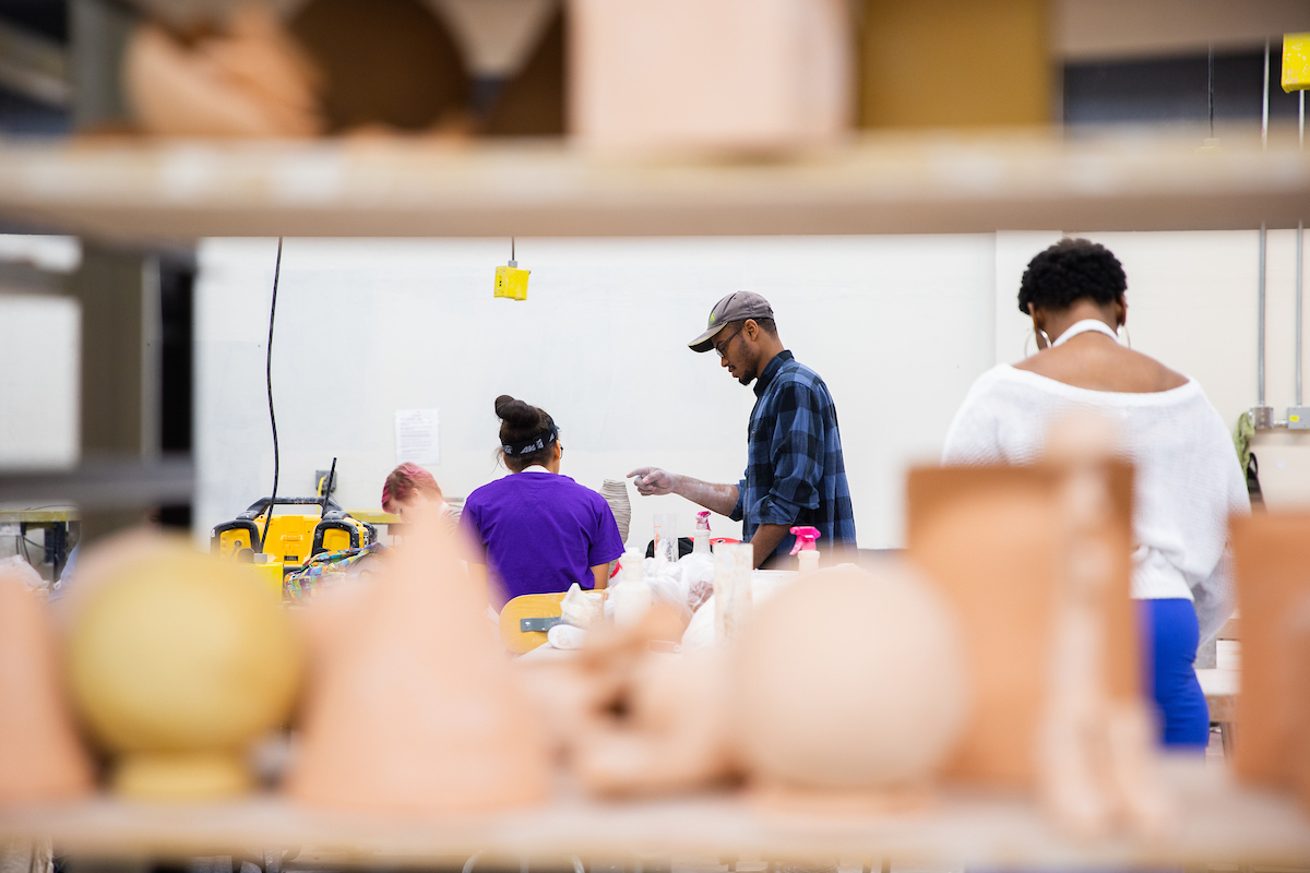 Austin Peay Art + Design holds open house to share student work