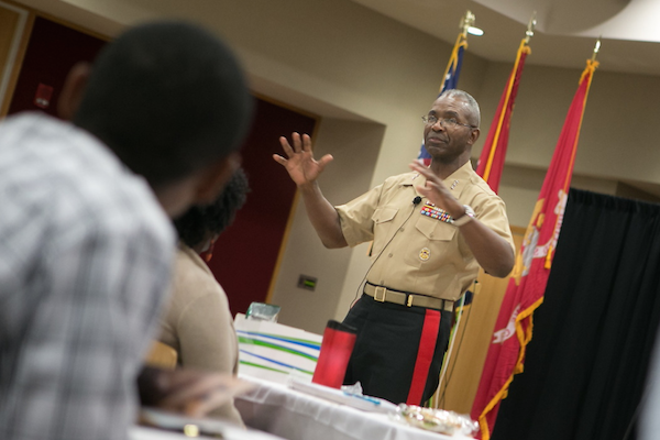 Celebrating ROTC's 50th year at Austin Peay: Lt. Gen. Ronald Bailey