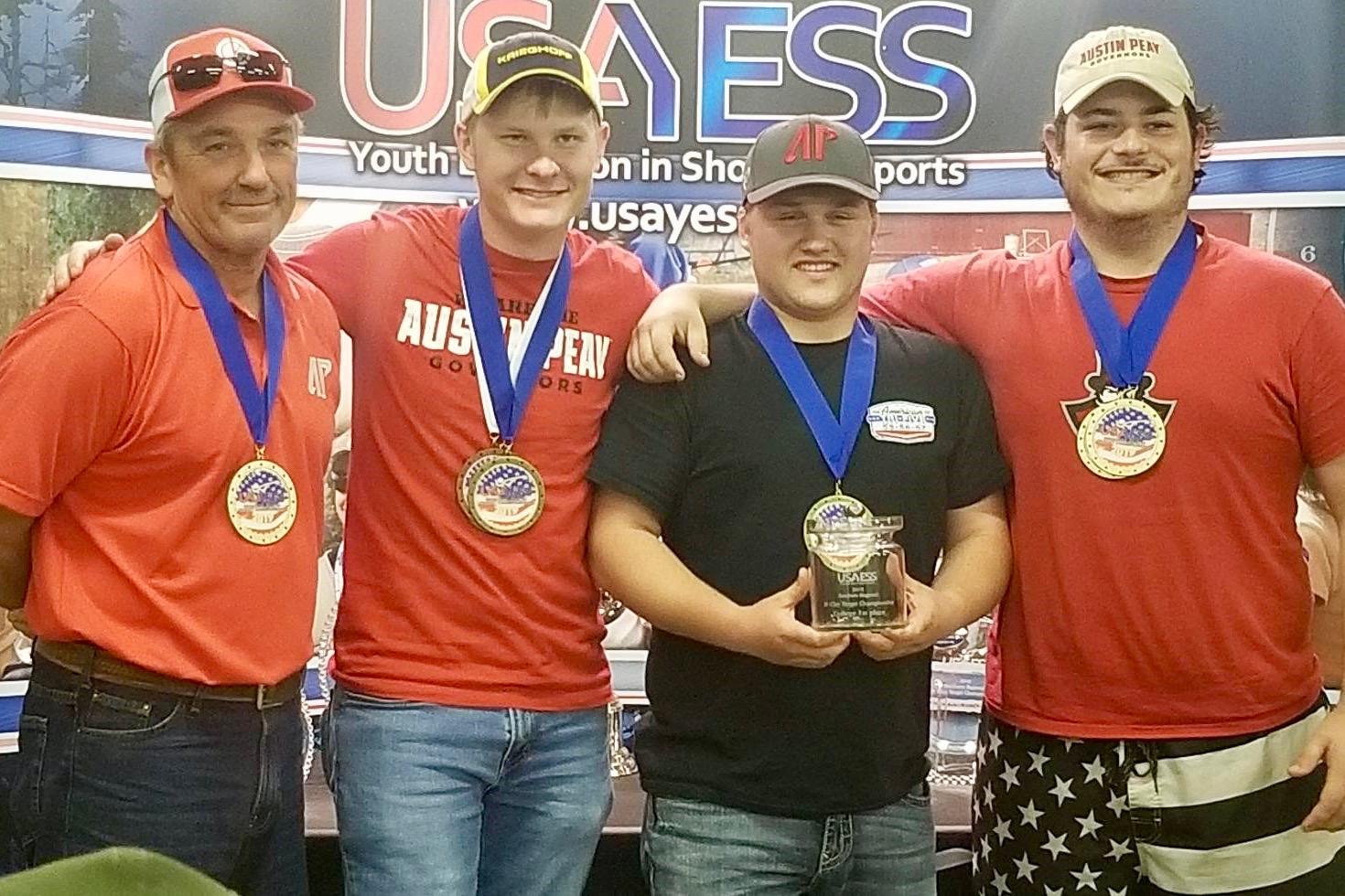 Clay Target Club best overall team at southern regional championship