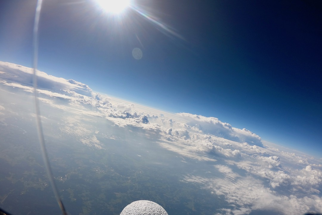 Austin Peay scientist helps Tennessee middle school launch high-altitude balloon over 106,000 feet