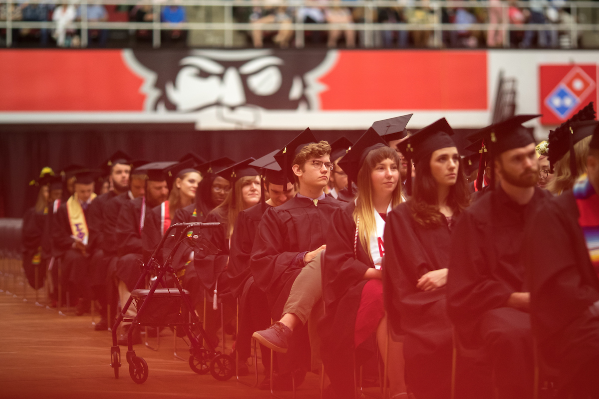 Watch LIVE: Commencement for business, STEM, Grad Studies students (10 a.m. May 3)