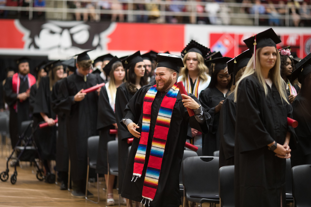 Watch LIVE: Commencement for Behavioral and Health Sciences, ROTC, Grad Studies (2 p.m. May 3)