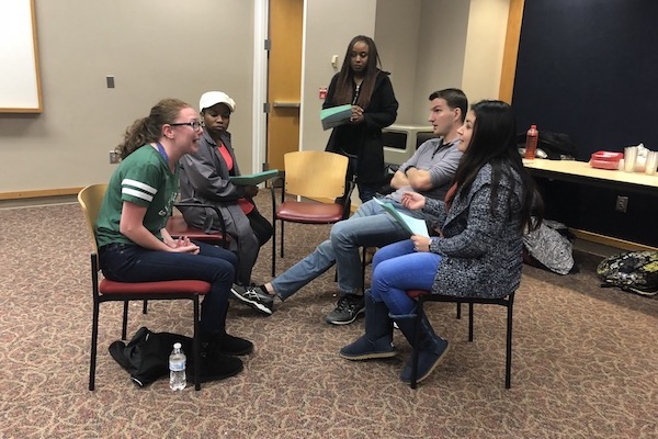 Students participate in disaster training in UC