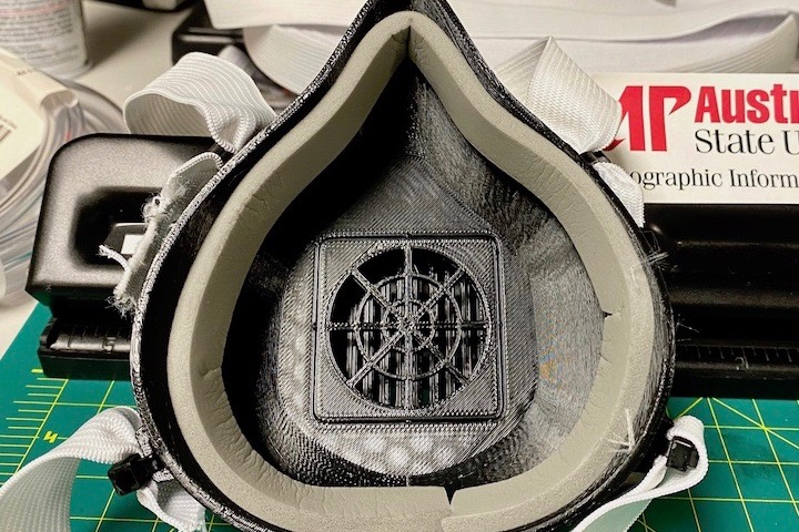 APSU's GIS Center hopes to produce 3D-print respiratory face masks in addition to face shields