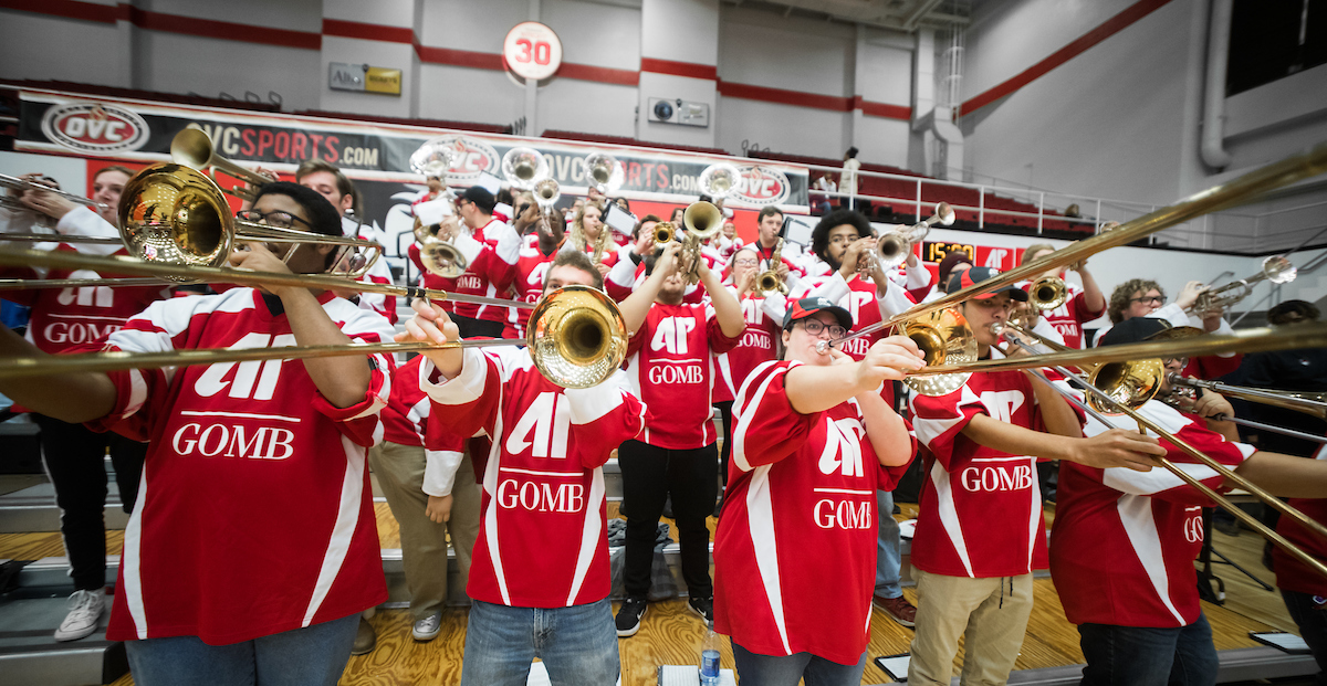 This week at Austin Peay: Go vote! See art! Root for the Govs!