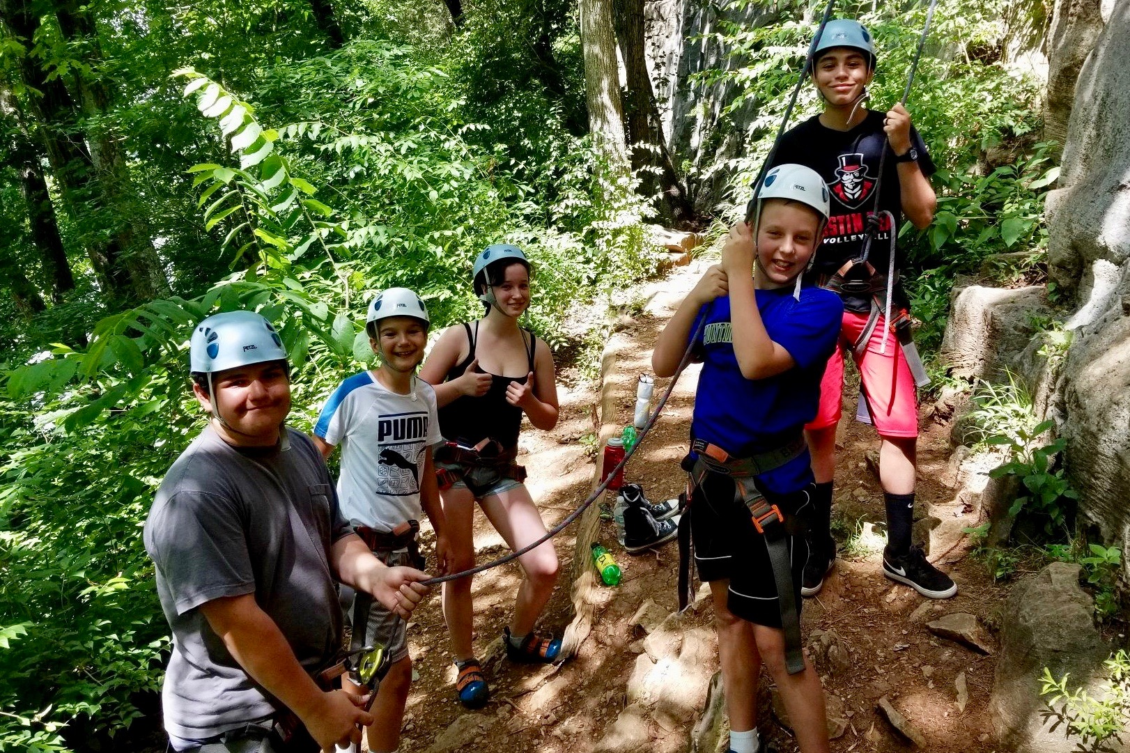 Spots still available at Govs Outdoors teen adventure camp
