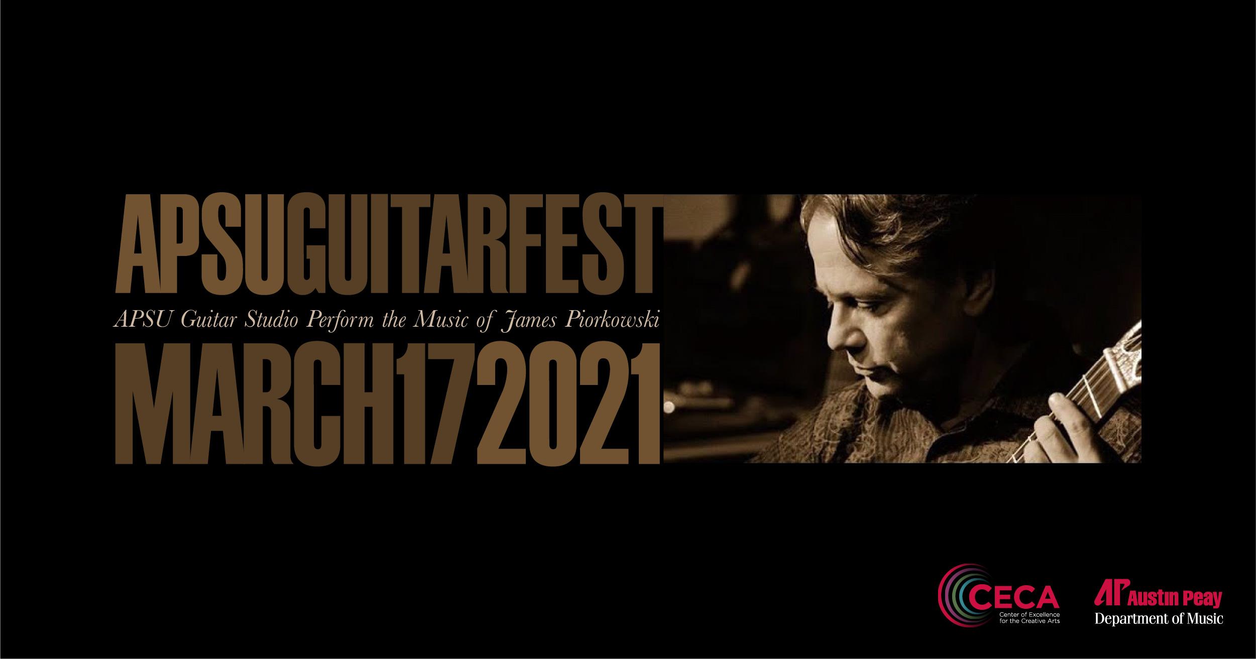 Happening today: APSU GuitarFest 2021 to feature livestream performances
