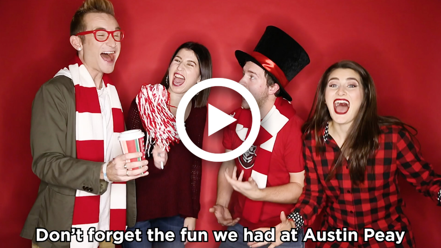 Watch: Happy holidays from Austin Peay!