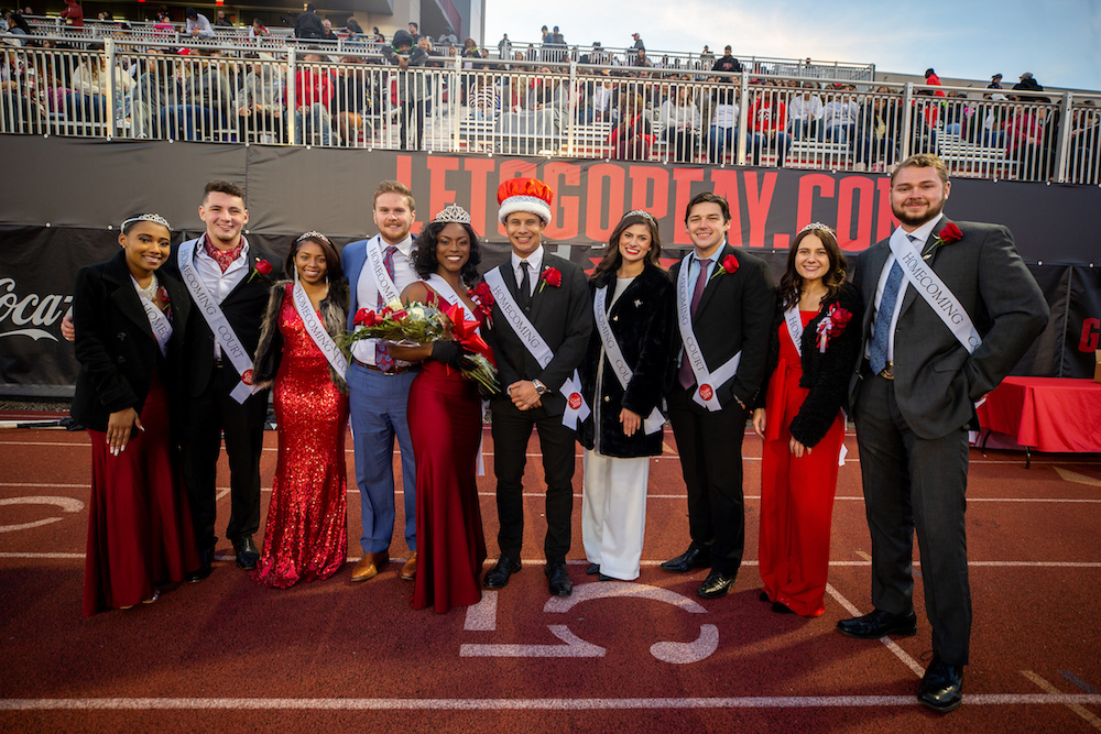Photos: Scenes from Saturday's Homecoming celebrations