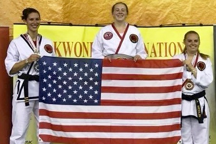 APSU senior wins gold medal