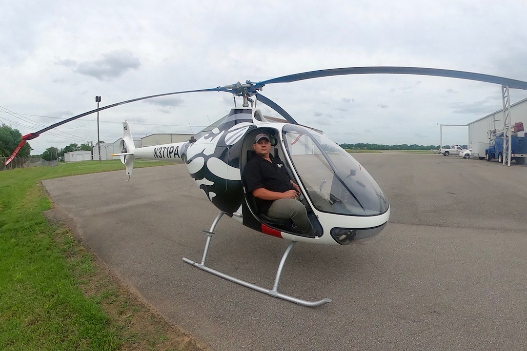 Austin Peay's new aviation science program sees first students take flight in helicopters