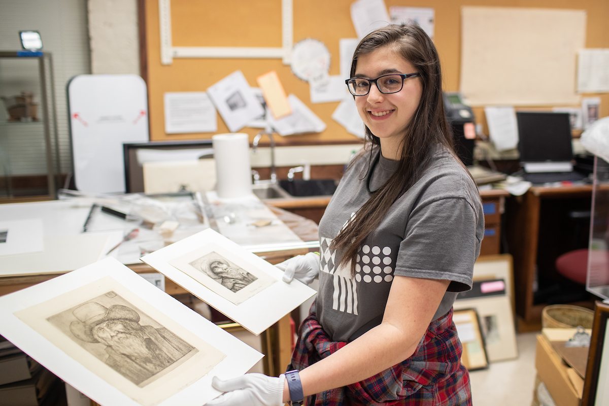 In effort to authenticate Legros discovery, APSU student finds connections